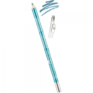 "Карандаш для глаз с точилкой W-207-002C тон №002 ""Professional Lipliner Pencil"" для глаз ""синий павлин"""