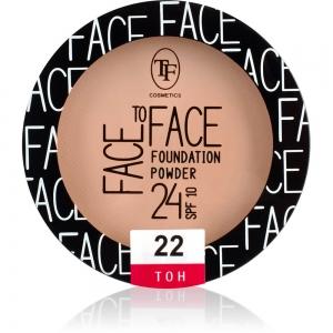 """Пудра компактная для лица """"Face To Face"""" TP-20-22C тон 22"""