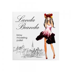 Landa Branda, Палетка для моделирования бровей Brown hair