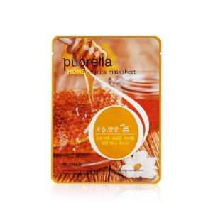 """Puorella Маска д/лица питательная """"Honey Natural"""" с медом на ткан.основе, 21г"""