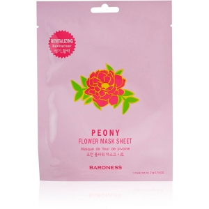"""Маска для лица восстанавливающая Baroness """"Peone Flower"""" , 21г"""