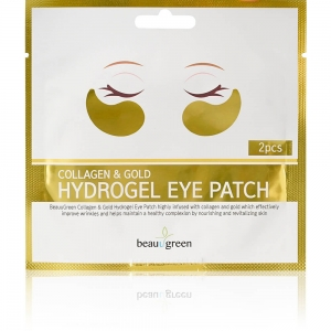 "Патчи для глаз гидрогелевые  Beauu Green ""Collagen & Gold"" (2 пары)"