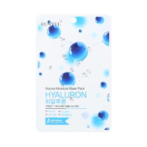 Маска д/лица Natural с гиалуроновой кислотой, тканевая, 22мл