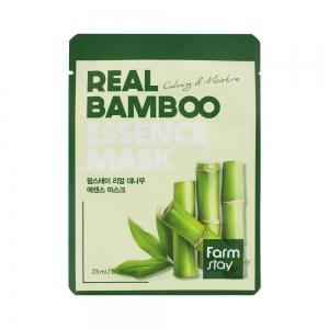 Маска для лица Real Fruits с экстрактом бамбука, тканевая, 23мл