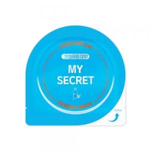 "My Secret Маска д/лица ""Coenzyme Q10"" с коэнзимом Q10 пр/старения, тканевая, 25г"