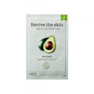 """Маска д/лица с экстр.авокадо """"Revive the skin"""", тканевая, 23мл"""