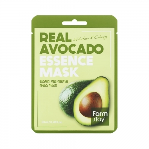 Маска д/лица Real Fruits с экстр.авокадо, тканевая, 23мл