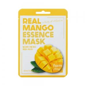 Маска для лица Real Fruits с экстрактом манго, тканевая, 23мл